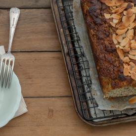 Honey & Almond Zucchini Cake