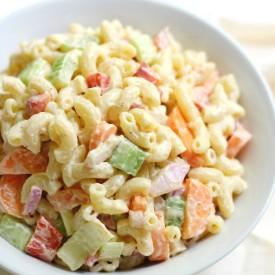 Classic GF American Macaroni Salad