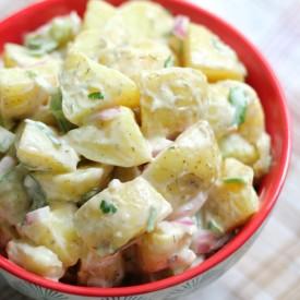 Classic American Potato Salad GF/V