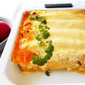 Rotisserie Chicken Guacamole Enchil