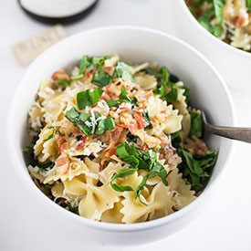 Kale and Pancetta Pasta