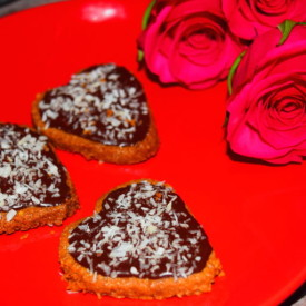 Valentine's Chocolate Biscuits