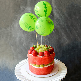 Real Fruit Watermelon Cake