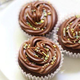Classic GF/V/AF Chocolate Cupcakes