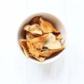 Spicy Oven Baked Tortilla Chips