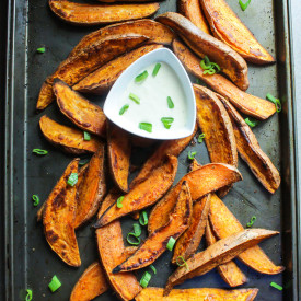 Cajun Sweet Potato Wedges