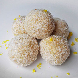 Raw Vegan Lemon Raffaellos