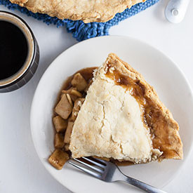 Rustic Old-Fashioned Apple Pie