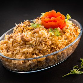 Tomato Rice with Coconut Milk