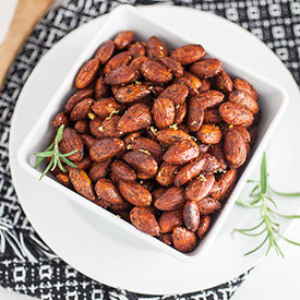 Rosemary and Lemon Toasted Almonds