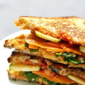 GF/V Harissa Grilled Cheese