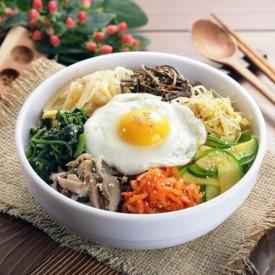 Bibimbap, a Korean traditional food