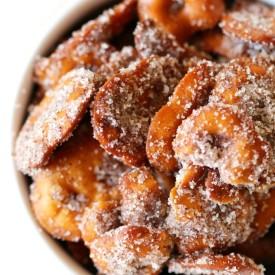 """GF/V Cinnamon """"Sugar"""" Pretzels"""
