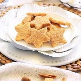 Spiced Christmas Shortbread