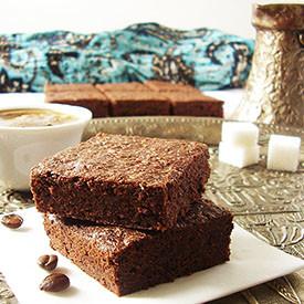 Turkish Coffee Brownies