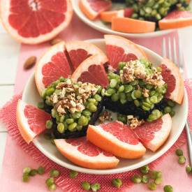 Grapefruit with Roasted Almonds