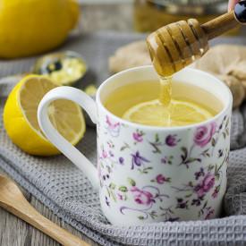 Fresh Lemon Ginger Tea