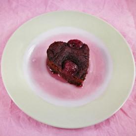 Flourless Cherry Brownies